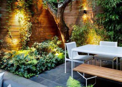 Création d'un jardin cloisonné sans vis-à-vis