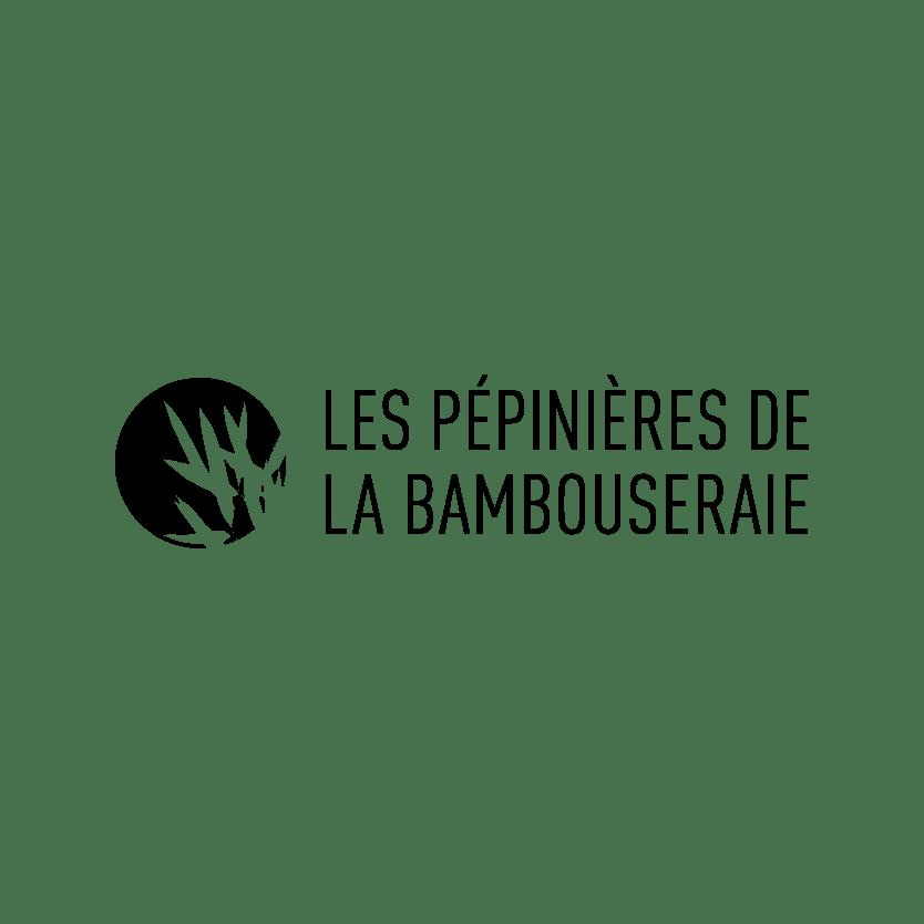 Logo Les pépinières de la bambouseraie