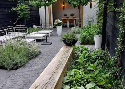 Réalisation d'un jardin dans des bureaux aménagé par Terrasse et jardin de Paris